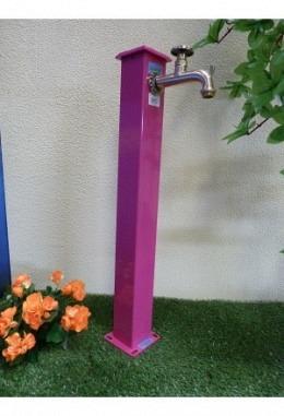 Wassersäule eckig 100 Länge komplett pulverbeschichtet S3 verschiedene Farben
