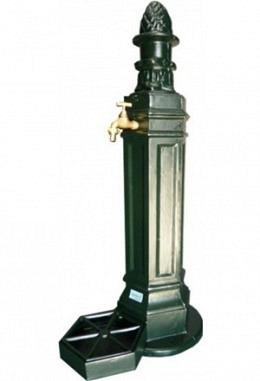 Standbrunnen grün 957626400 aus Aluminium Spezial lackiert Modell Schönbrunn