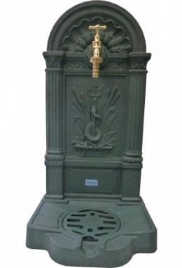 Wand-Standbrunnen Modell Bad Ischl 957687015-grün/schwarz antik